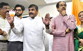 Ncps Mumbai Chief Sachin Ahir Joins Sena The Hindu