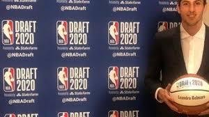 Leandro Bolmaro fue elegido en el Draft ...