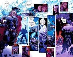 comic book lighting. You See The Weapon Is Not Thor Power Do Him In Back Cannot Even Lift Hammer.He Had Hammer Charge Up With Lighting And It Just Went Out Comic Book