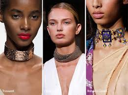 spring summer 2017 jewelry trends chokers