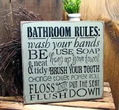 hobby lobby bathroom decor bathroom rules sign bathroom rules sign bathroom decor bathroom rules sign hobby