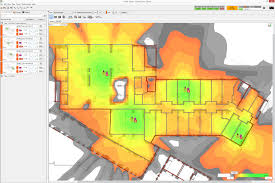 Wifi Attenuation Chart Wi Fi Planning Walls And Dbs Measuring Obstruction