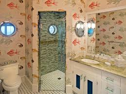Bathroom Fish Decor Fish And Mermaid Bathroom Decor Hgtv Pictures Ideas Hgtv