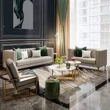 european style furniture leather sofa