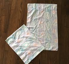 westpoint stevens sheet set vintage westpoint stevens set of 2 pastel floral bed pillowcases