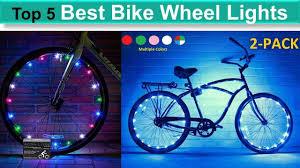 Best Bike Wheel Lights 5 Best Bike Wheel Lights Bike Wheel Lights Reviews Youtube