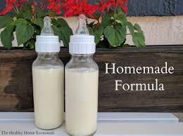 homemade baby formula