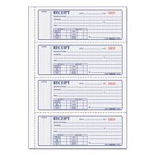 Money Receipt Book 7 X 2 3 4 Carbonless Triplicate 100 Sets