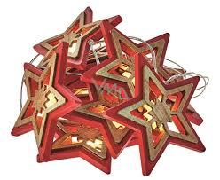 Weihnachtsstern Kettenbeleuchtung 135 M 10 Leds Warmweiß 03 M Netzkabel