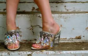 all that glitters prada chandelier shoes