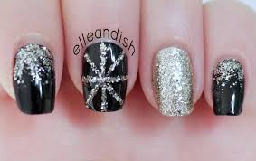New Year's Eve Party Nails - YouTube