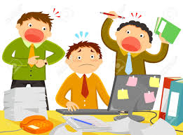 too much work stock photos pictures royalty too much work too much work worker being stressed out by noisy colleagues and too much work