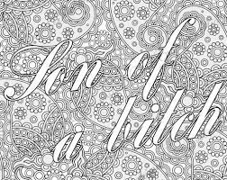 Small Picture 53 best Swear Words Coloring Pages images on Pinterest Coloring