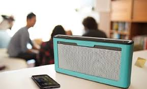 Image Bluetooth Speakers Business Woman Media Best Office Speakers For Your Business