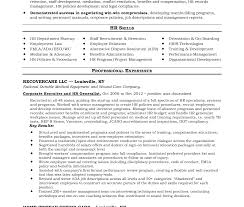 Hr Generalist Resume Best Hr Generalist Resume Sample Good Sr Senior Sle Impressive 74