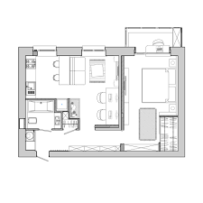 Small Apartment Floor Plans One Bedroom Incredible Small One Bedroom Apartment Floor Plans Nice Home
