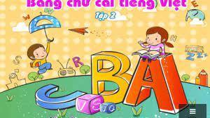 Dạy bé học - Bé tập đọc bảng chữ cái tiếng việt phần 2 | Bảng chữ cái,  Viết, Hình ảnh