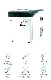 igloo ice maker reviews parts magic chef manual lovely portable 2 of 3 mini replacement della ice maker
