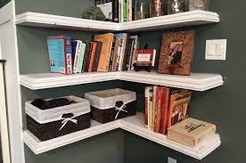 Wicker Corner Shelves The Wide Ranges of Ideas of the Floating Corner Shelves Use for 90
