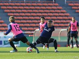 「ポジション別 練習 サッカー 日本代表」の画像検索結果