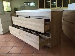vanity cabinet only. Plain Vanity MODA1500mmFloorStandingTimberWoodGrainOAK In Vanity Cabinet Only N