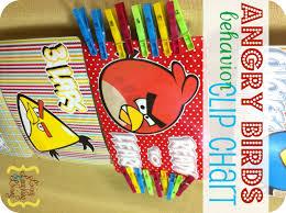 Angry Birds Behavior Chart Angry Birds Behavior Clip Chart Free Printable Living