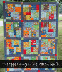 Disappearing Nine Patch Quilt - Life After Laundry & Disappearing Nine Patch Quilt | LifeAfterLaundry.com | #quilting  #handquilting #modafabric Adamdwight.com
