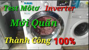 Tets Môtơ Máy Giặt LG 20kg Inverter//Máy Giặt LG Báo Lỗi LE//Máy Giặt Không  Chạy Và Báo Lỗi LE - YouTube