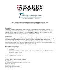Brilliant Ideas Of Sample Faculty Resume Resume Example Adjunct