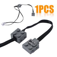 Lego Technic Power Functions Lights Us 3 78 31 Off New Technic Power Function 8870 Led Light Link Line Cable For Lego Train Vehicle 37cm In Tool Parts From Tools On Aliexpress