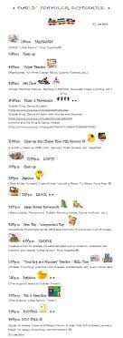 best ideas about daily schedule kids kids this is my daily weekday schedule that i m starting to loosely follow my