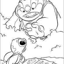 Lilo And Stitch Coloring Pages 33 Free Disney Printables For Kids