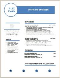 Resume Template 2017 Mesmerizing Modern Resume Design 60 Resume Corner
