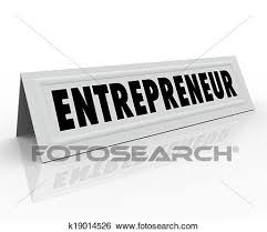 name tent stock images of entrepreneur name tent card expert business owner