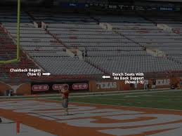 Texas Football Dkr Texas Memorial Stadium Seating Chart