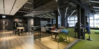 Modern office architecture design Office Building Greetlyvisitormanagementsystemcorporateofficedesigntrends Greetly Modern Corporate Office Design Trends Greetly Visitor Registration