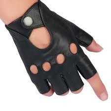 2019 women man genuine leather gloves driving unlined goatskin half finger gloves fingerless gym fitness from naughtie 33 97 dhgate com