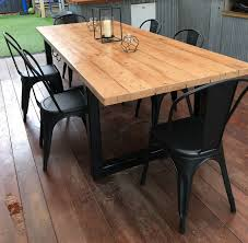 T Perfect Industrial Dining Table Recycled Oregon Made By  Recycledtimberfurnitureoz Com Uk And Chair Melbourne Nz Perth Sydney Australium Adelaide