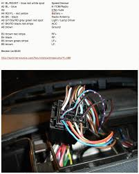 radio wiring harness archive sprinter forum