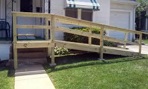 Handicap Ramps Wood Designs 20 Diy Deck Railing Ideashaving A Deck Area Is A Privilege