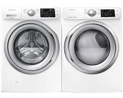 samsung steam washer and dryer. Modren And Amazoncom Samsung Appliance White Front Load Laundry Pair With  WF42H5200AW 27 On Steam Washer And Dryer