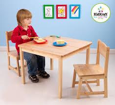 Kidkraft Heart Table And Chair Set Amazoncom Kidkraft Aspen Table And Chair Set Natural Toys Games