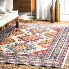ivory bohemian traditional artsy faded border area rug nuloom rugs canada