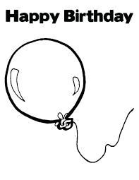 Ballon Coloring Page Healthwarehouse Co