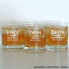 monogram whiskey glass items similar to 1 rocks engraved glasses monogrammed personalized crystal s