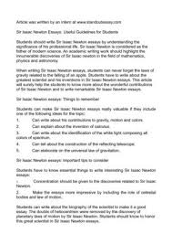 sir isaac newton essays useful guidelines for students sir isaac newton essays useful guidelines for students
