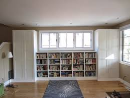 Besta Built In Family Room Bookshelf And Tv Unit Ikea Hackers