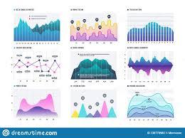 Infographic Diagram Statistics Bar Graphs Economic