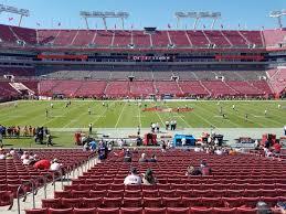 Raymond James Stadium Section 135 Tampa Bay Buccaneers