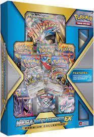 Pokemon Cards Pokemon Mega Metagross Ex Premium Collection 12995 Toys &  Games Booster Packs